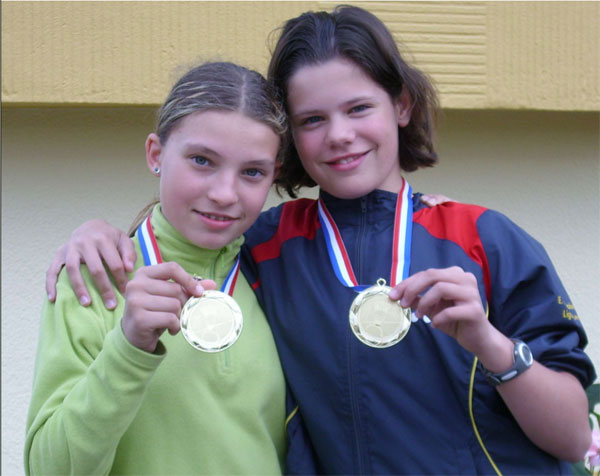 Maëlle PERSELLO et Marie SCARPELLINI
